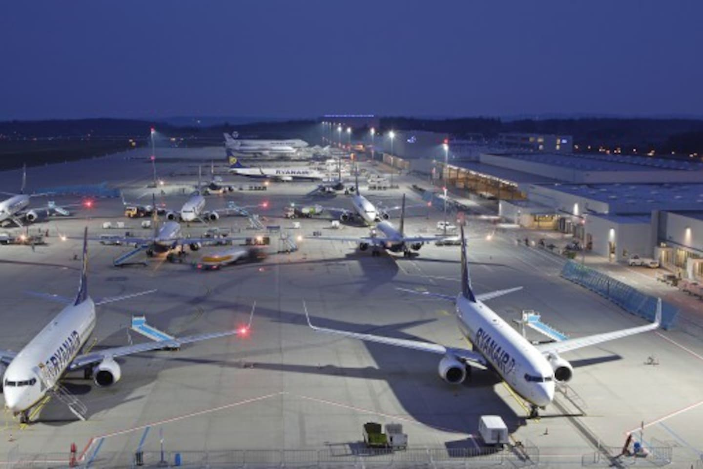 Frankfurt Hahn Airport....Shuttle bus available direct to Airport for pickup and collection 24 hours..5 mins. in car