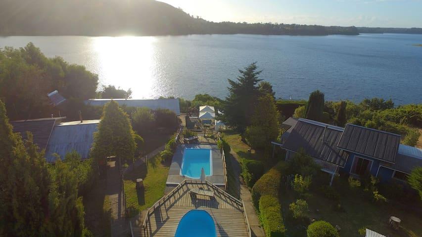 Cabañas Complejo pehuen lago lanalhue