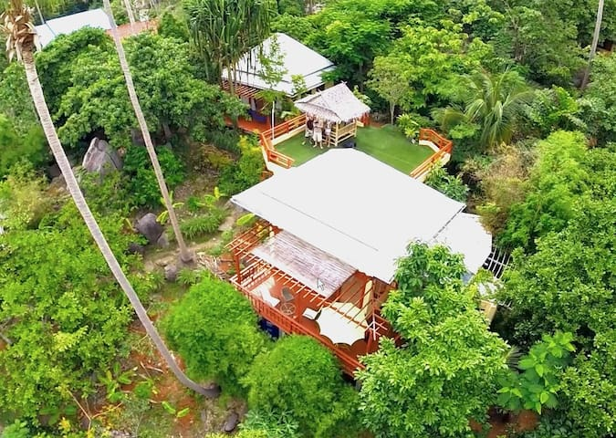 Baan Hin - Rock Villa - Ko Tao - Casa de camp