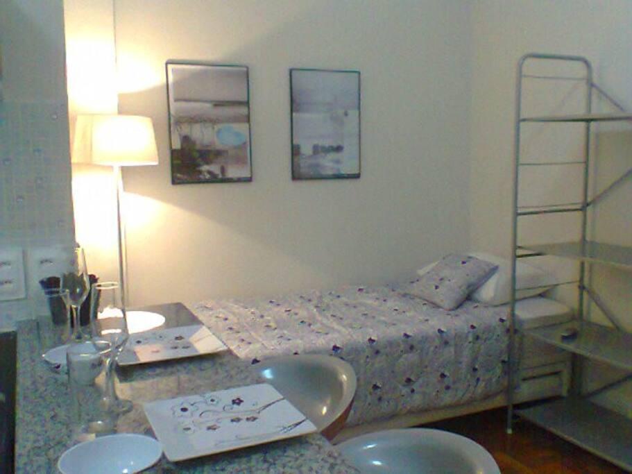Bicama/sofá confortável e aconchegante