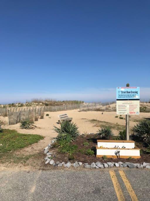 Dune crossing