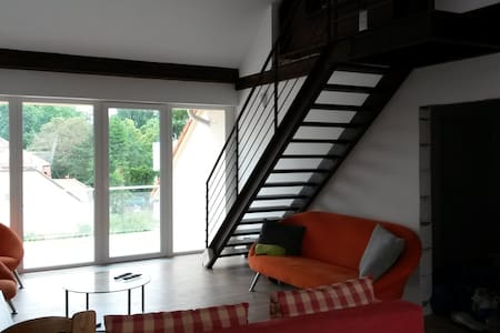 New attic apartment at city center of Piestany - Piešťany