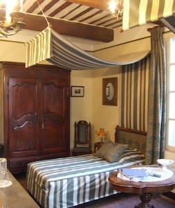 chambre aux dais + petits dejeuners - Remoulins - 家庭式旅館