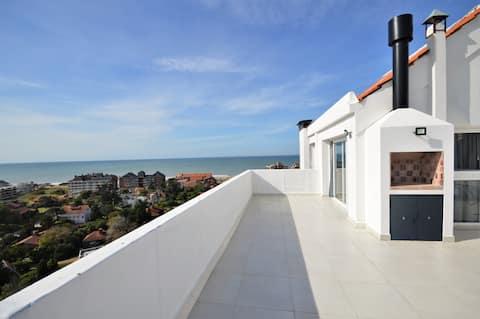 Excelente 3 ambientes con vista panorámica al mar