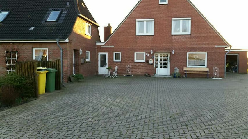 Gemütliche Wohnung 89 qm Nordsee - Nordstrand - Lägenhet