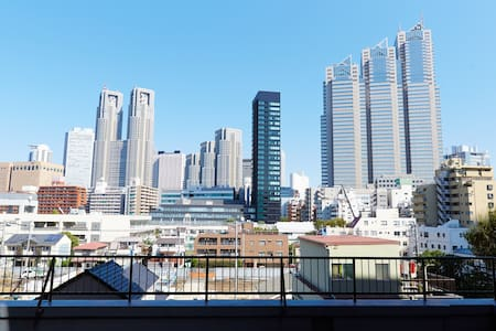 great view of the Shinjuku  - Shinjuku - Pis