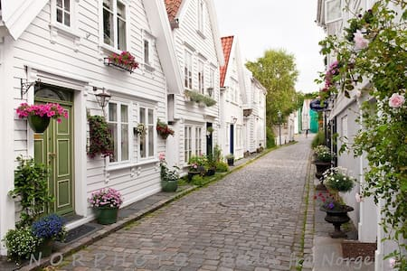 Lovely apt. 100m from Old Town - Stavanger - Pis