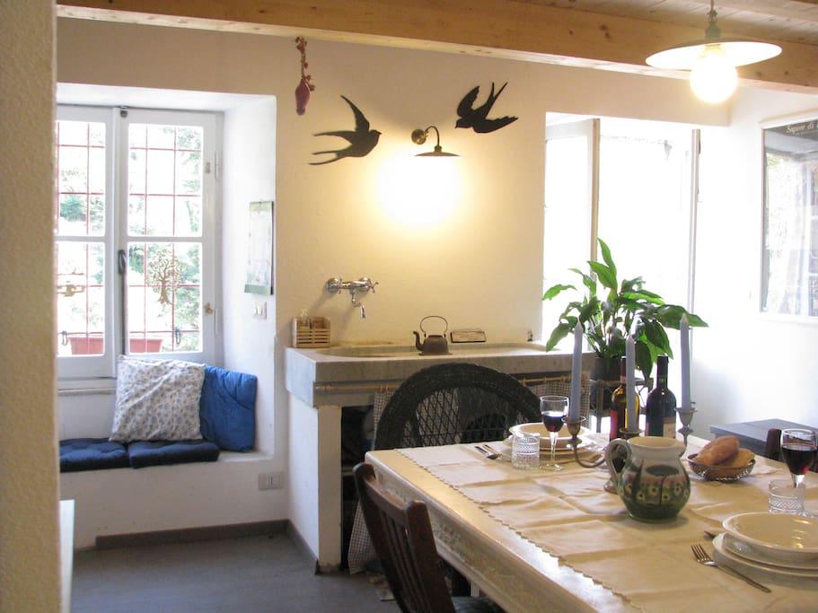 Podere la sosta della rondine case in affitto a terisso for Case mediterranee della california