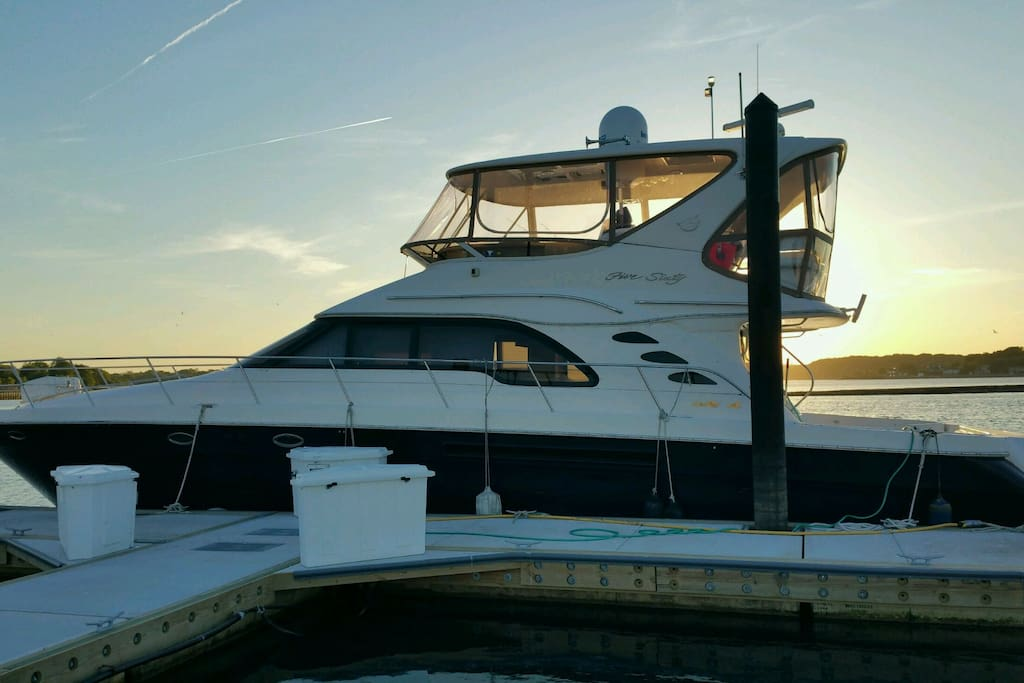 60 39 sea ray for cruising parties and fishing boats for for Belmar nj fishing boats