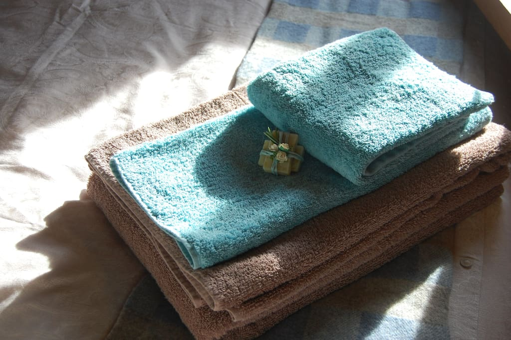 Enjoy mid-week fresh towels