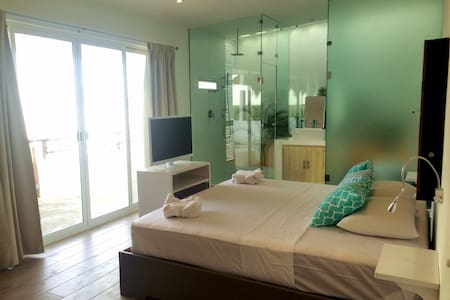 Luxury Private Room - Penthouse - Mahahual - Apartament