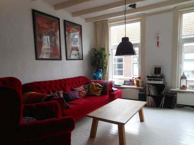 Bright appartment with roof terrace - Haarlem - Pis