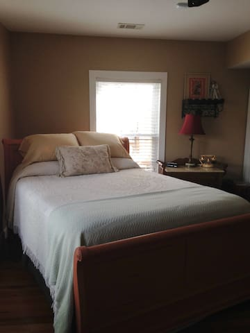 Prince~Fleming Haus/Queen/Downstairs - Kingsland - Bed & Breakfast