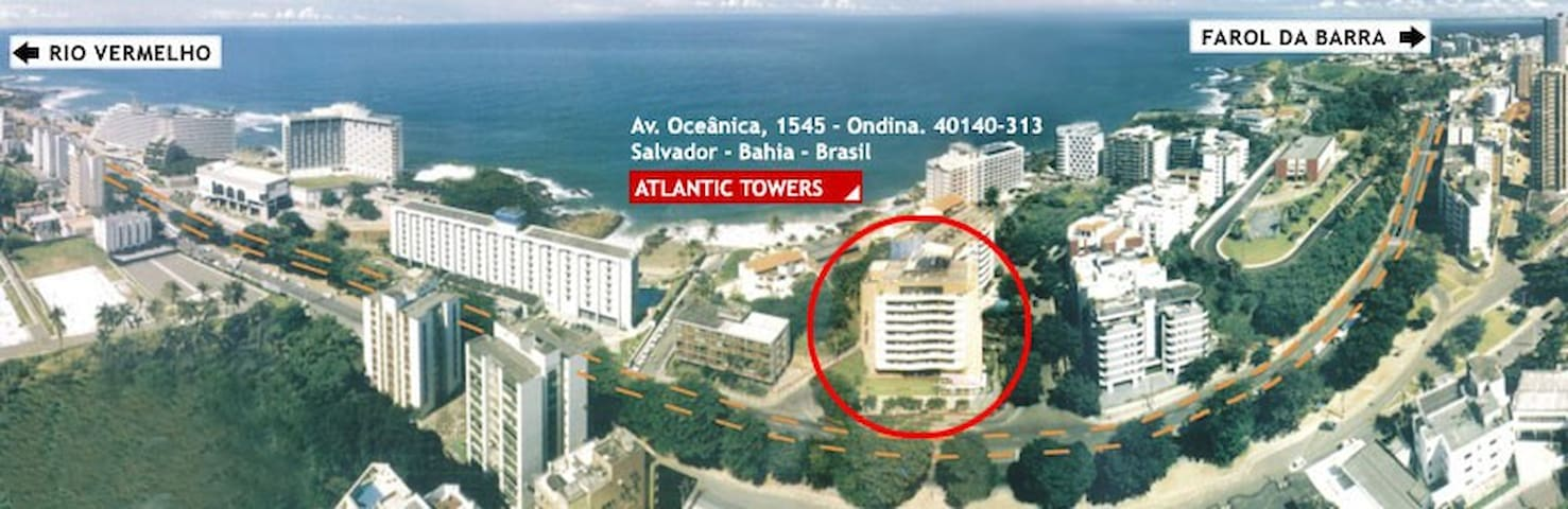 Atlantic Towers - Salvador/BA - Salvador - Apartmen