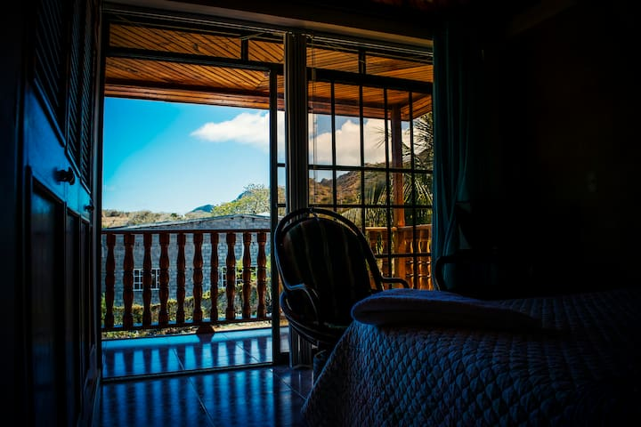 Double Room with Balcony - Isla de Providencia - Bed & Breakfast