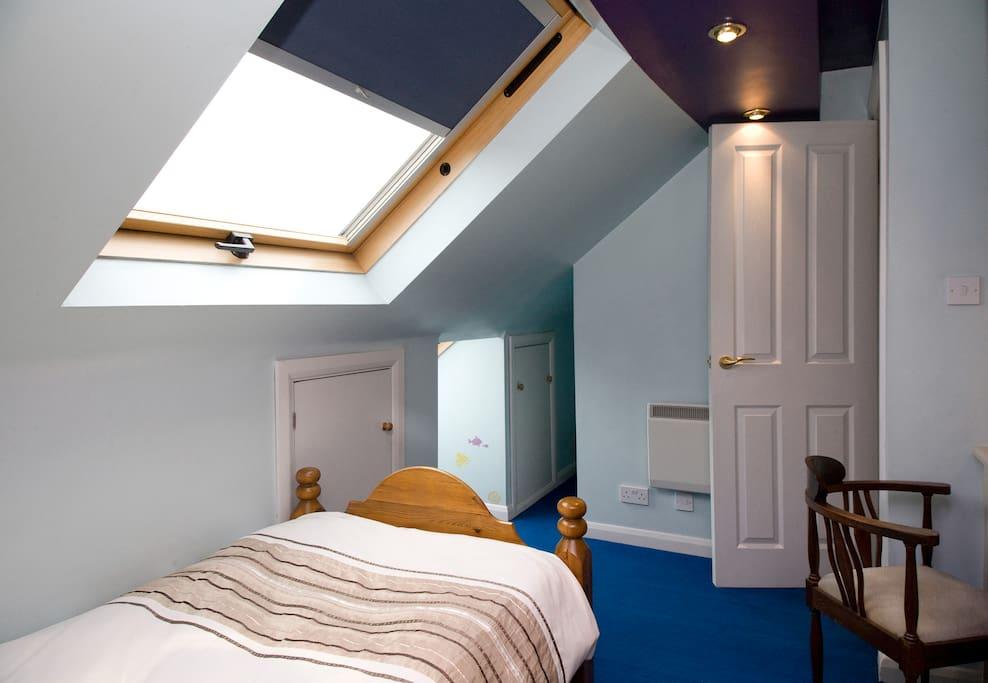 Single room in loft space
