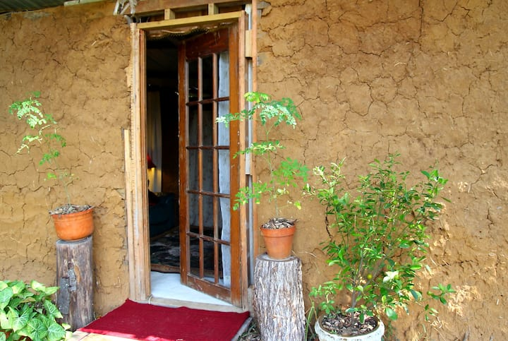 Earthen Cottage on Small Ecovillage