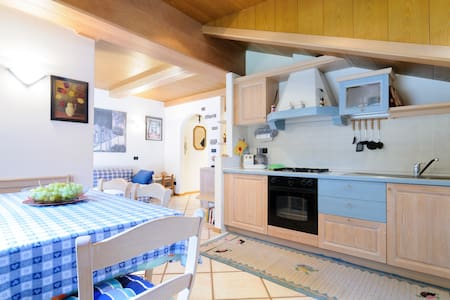 Splendido appartamento di montagna - Forno - Lägenhet