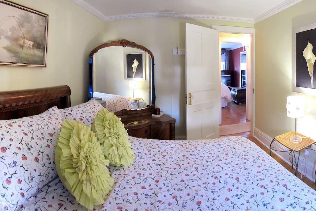 Bedroom #2; $102.00 per night (sleeps 2)