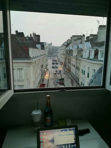 Centre app nice view - Beauvais - Daire