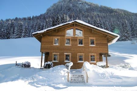 Maisäß-Ferienhaus Neuberg Alm - Sankt Gallenkirch - Stråhytte