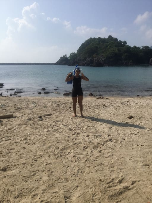 Bo Thong Lang beach. Great snorkeling . Great food....eat on the beach under overhanging trees