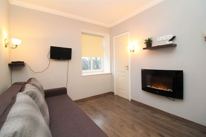 Compact studio in the heart of the city center