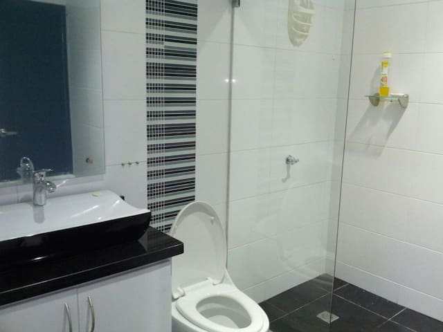 Habitacion doble. Baño privado. Air