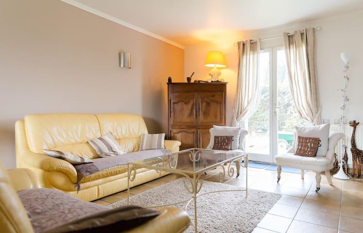 Chambre DOUBLE dans beau pavillon, 7 min de ROUEN - Le Mesnil-Esnard - House