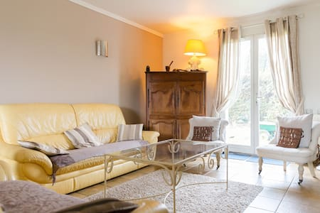 Chambre DOUBLE dans beau pavillon, 7 min de ROUEN - Le Mesnil-Esnard - Dom