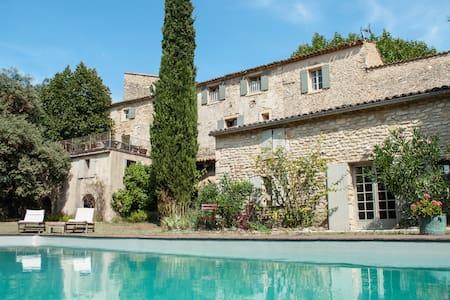 La Madelene, C12th priory, Provence - Malaucène