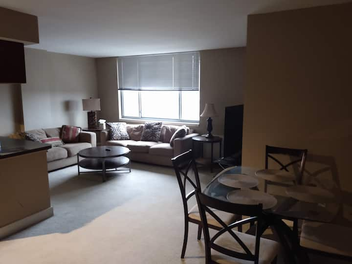 Two bedroom condo, Kansas City at the Metropolitan