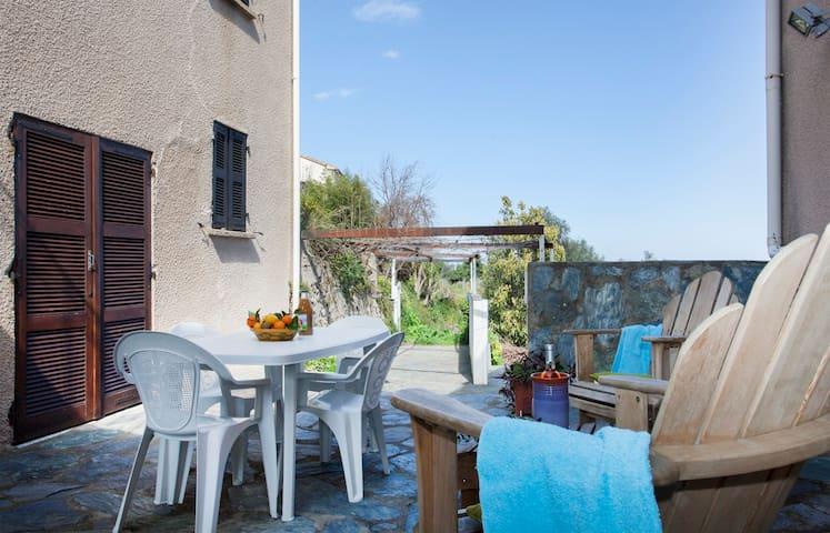 Maison de village rénovée vue mer barbecue wifi - Sorbo-Ocagnano - Apartament