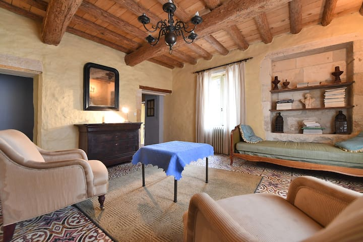 House full of character between Nimes and Avignon - Meynes - Talo