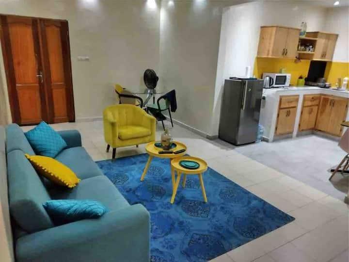 Petit appartement coloré de Didi