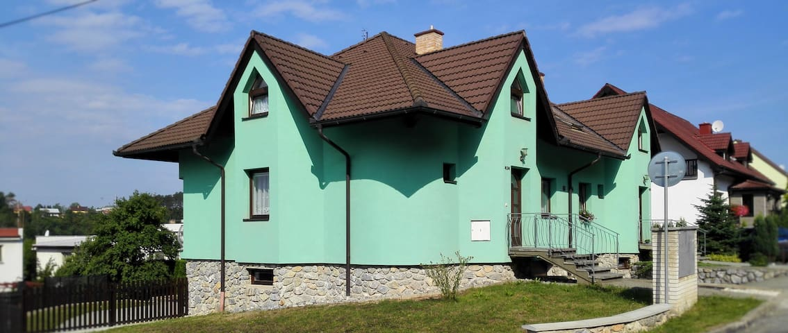 Moravský kras, Blansko - Ostrov u Macochy - Haus