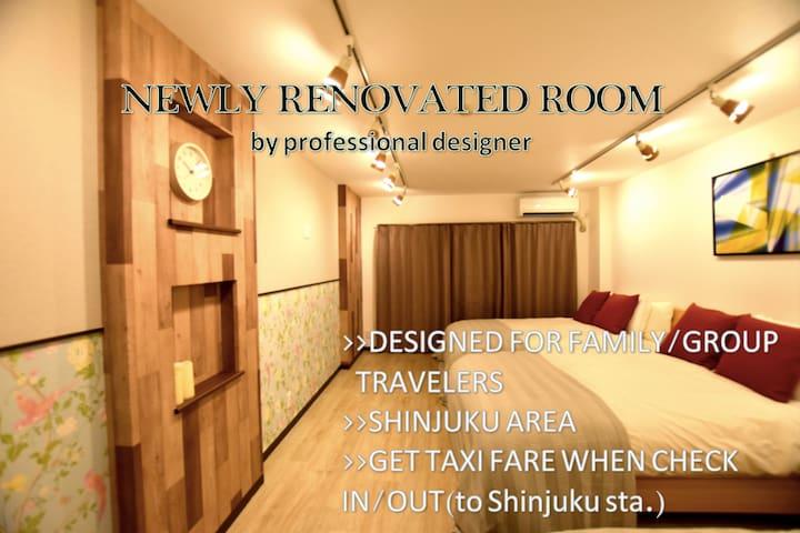 NEWLY RENOVATED FLAT/WEST-SHINJUKU2