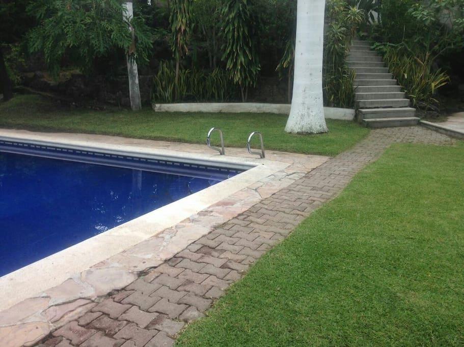 Quinta en renta por dos noches en adelante casas en for Alquiler de casas con piscina privada que admiten perros
