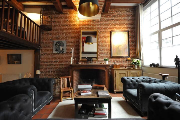 Charming house XVIIe City Center Vieux Lille - Lilla - Casa