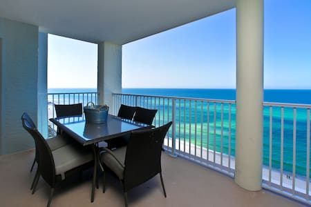 Stunning Gulf Front Condo w/ Views From Every Room - Panama City Beach - Osakehuoneisto
