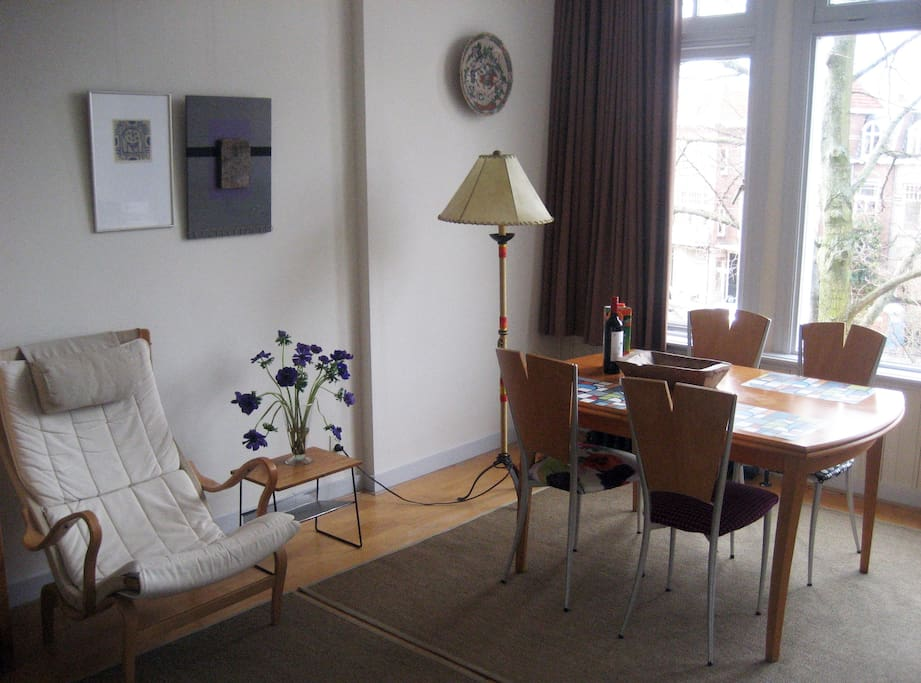 Diningtable in the livingroom