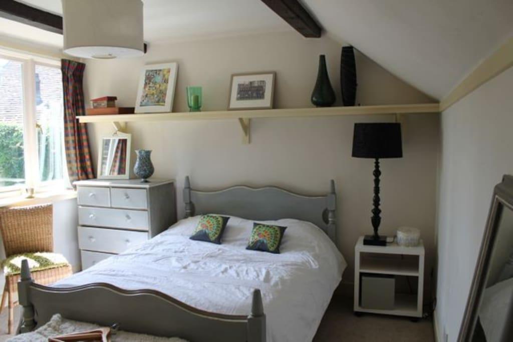 Double bedroom 1 with en-suite shower.