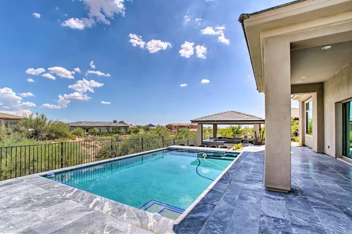 NEW! Spacious Scottsdale Apt: Pool/Outdoor Kitchen