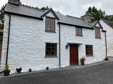Traditional Welsh  Farm house on a working farm