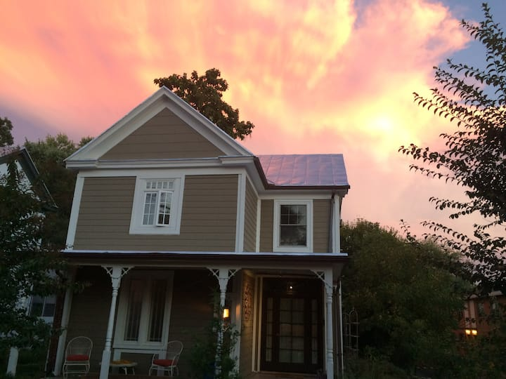 Solar, Eco friendly,  2 BR, 1 Bath, UVa & Downtown