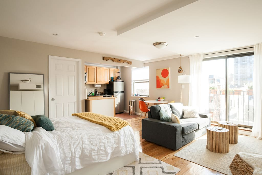 Sunny Gem with Balcony! - Apartments for Rent in New York ...