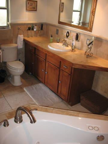 Big Private washroom.