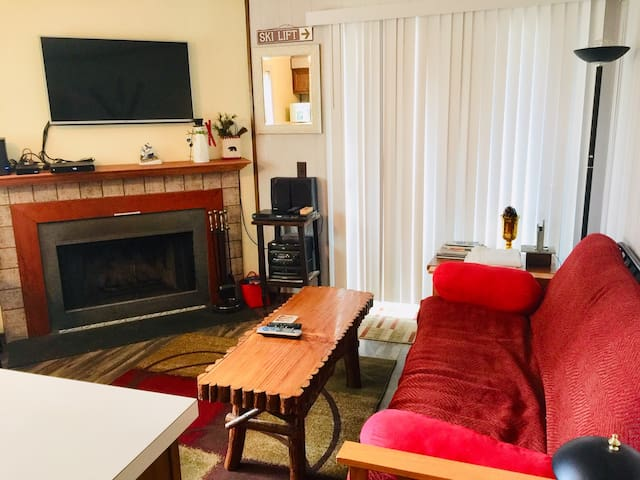 Long Live Snow! Enjoy your next ski vacation in this 1 bedroom condo!