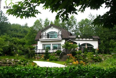 별장형 타운하우스(치악산 주련골펜션.kr) - Sinlim-myeon, Wonju-si - Villa