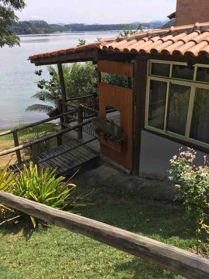 Linhares-ES Lagoa Nova lagoa com area de churrasco
